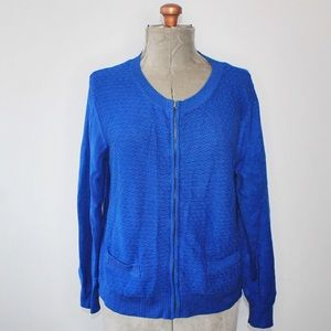 🎀 Northern Reflections Royal Blue Knit Cardigan